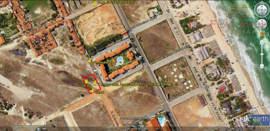Terreno à venda na Praia do Futuro á 2 quarteirões da praia.