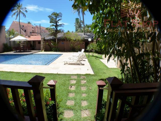 Apartamento de 1 quarto, á venda, ótimo para locação por temporada no Cumbuco a meio quarteirão da praia, Caucaia.