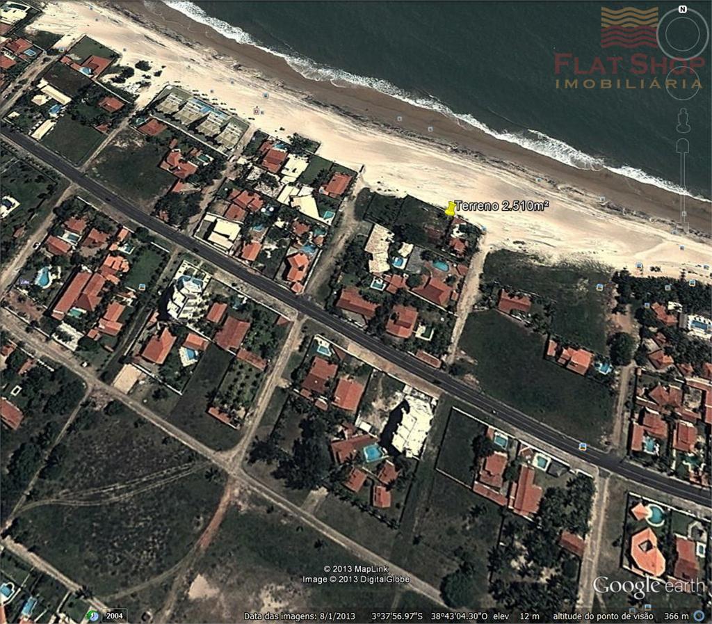 Terreno Frente Mar à venda, Cumbuco, Caucaia.
