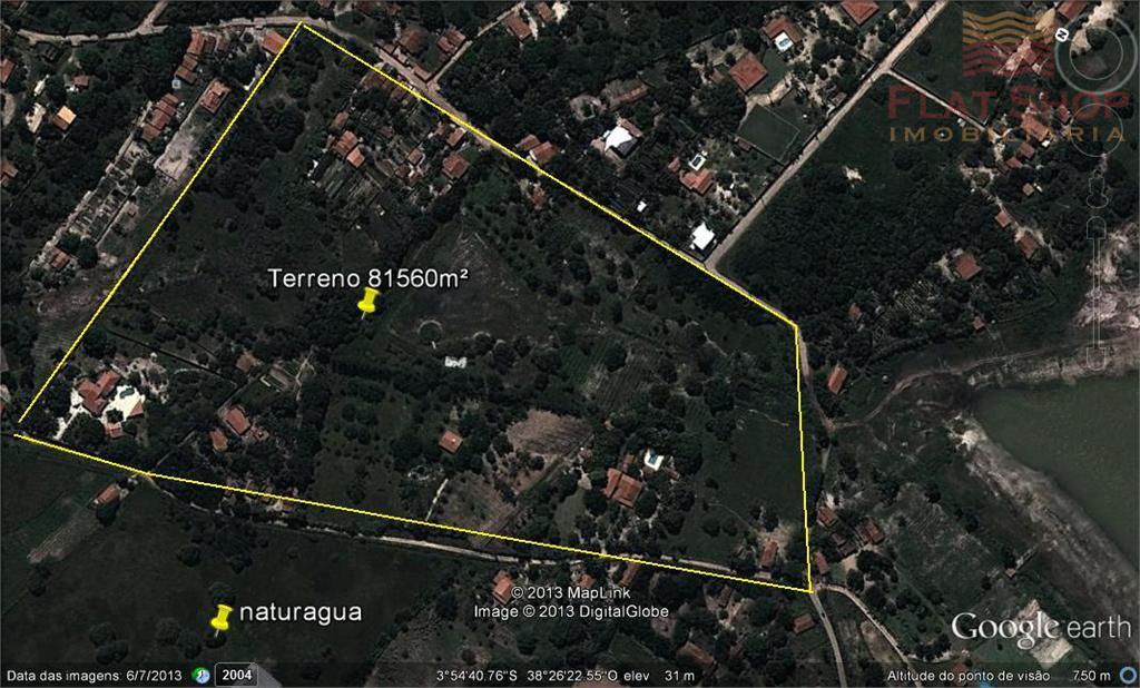 Terreno à venda no Eusébio próximo á Naturágua.