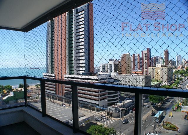 Flat,um quarto,locação por temporada no  Meireles, Fortaleza.