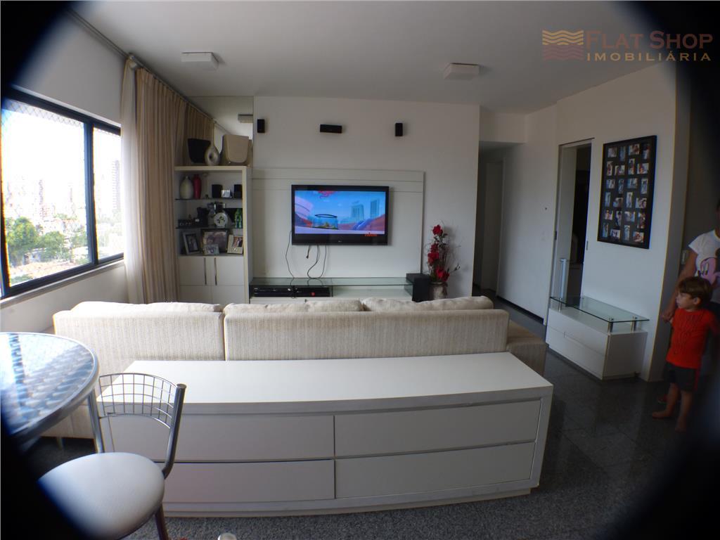 Apartamento residencial à venda, Praia de Iracema, Fortaleza.