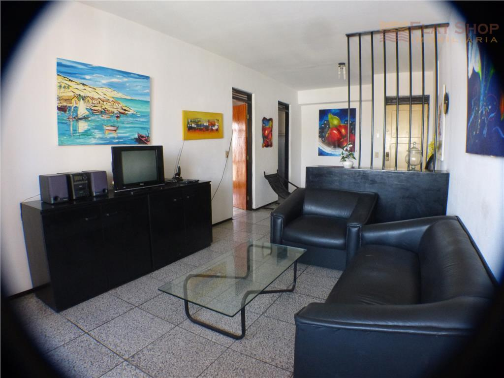Apartamento  de um quarto para locação por temporada  na Praia de Iracema, Fortaleza.