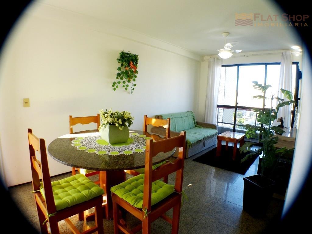 Apartamento locação por temporada, Praia de Iracema, Fortaleza, 2 quartos com piscina