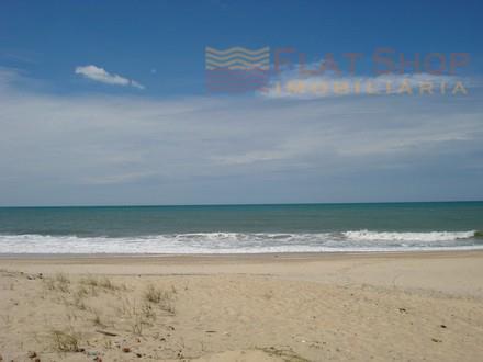 Maravilhoso terreno frente mar em Cumbuco
