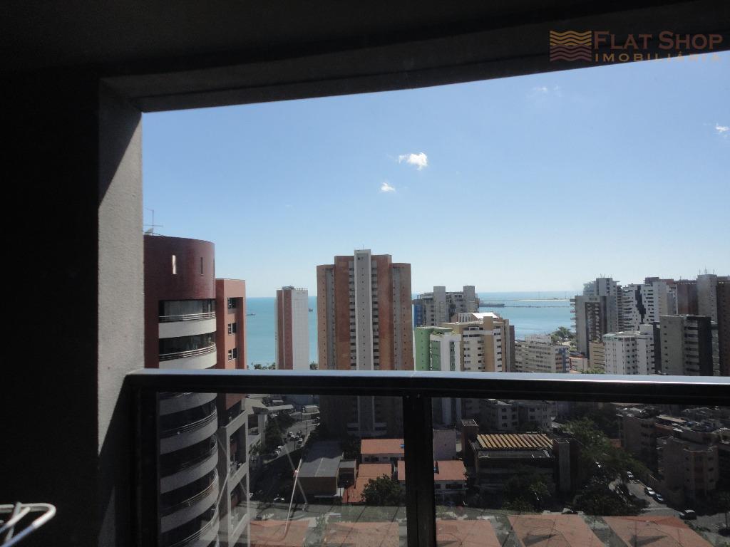 Apartamento residencial à venda, Meireles, 2 quartos Vista mar, para morar bem em Fortaleza-CE