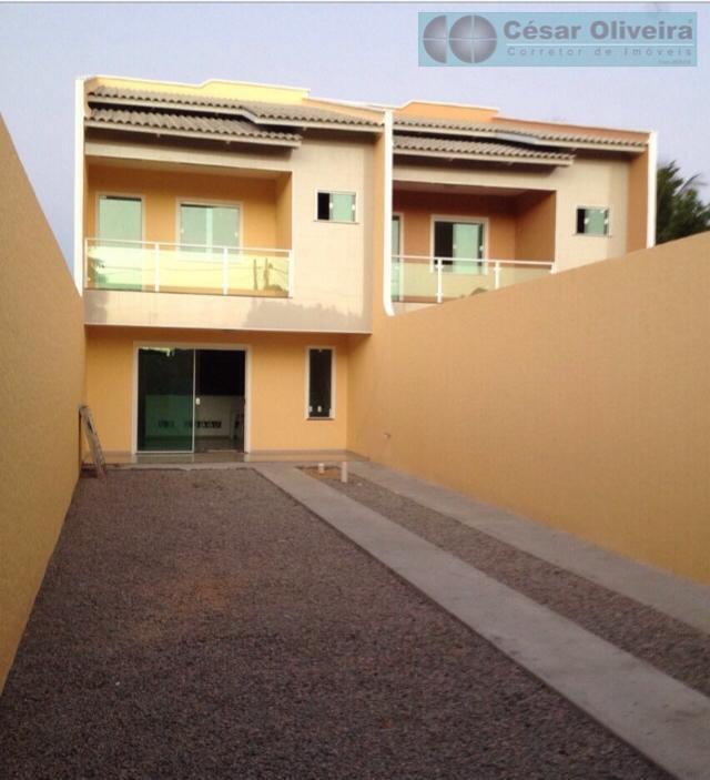 Casa com 3 dormitórios à venda por R$ 330.000 - Messejana - Fortaleza/CE