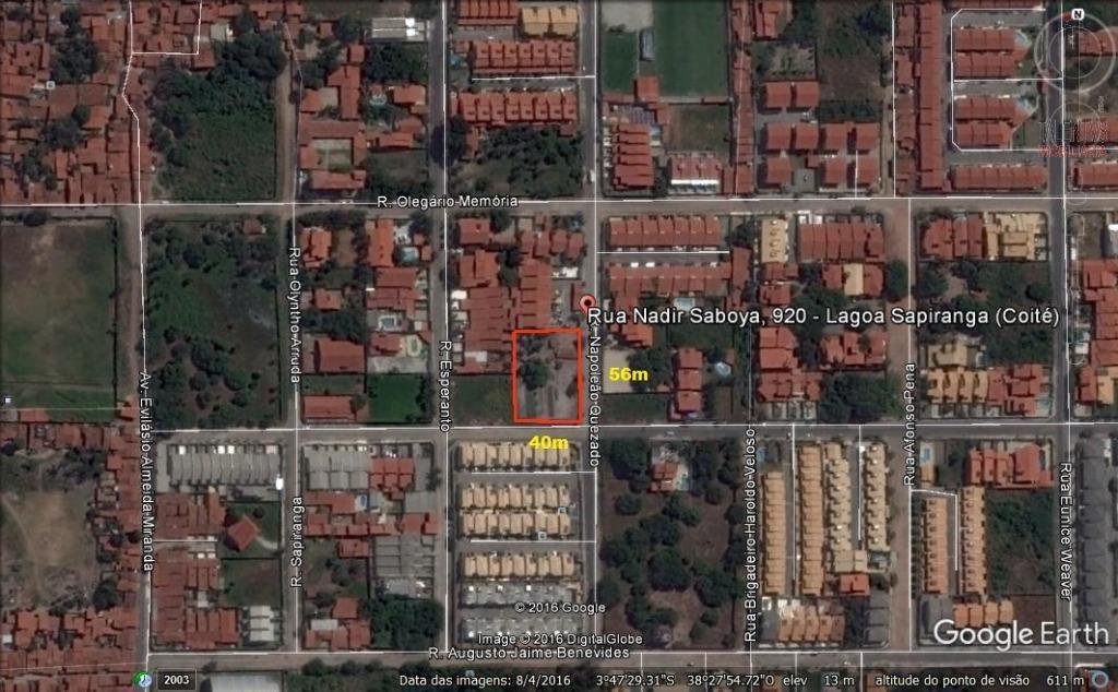 Terreno residencial à venda, Sapiranga, Fortaleza.