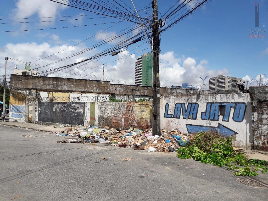 Terreno comercial para locação, Centro, Fortaleza.