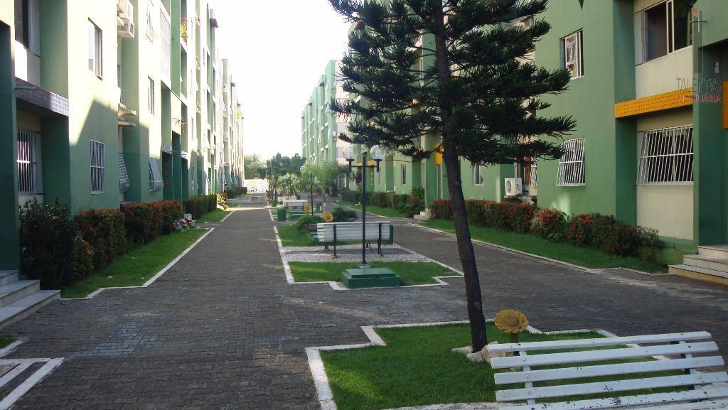 Apartamento residencial para locação, Parque Tabapua, Caucaia.