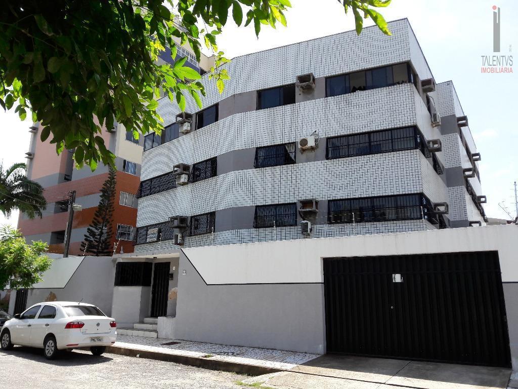 Apartamento residencial à venda, Parreão, Fortaleza.