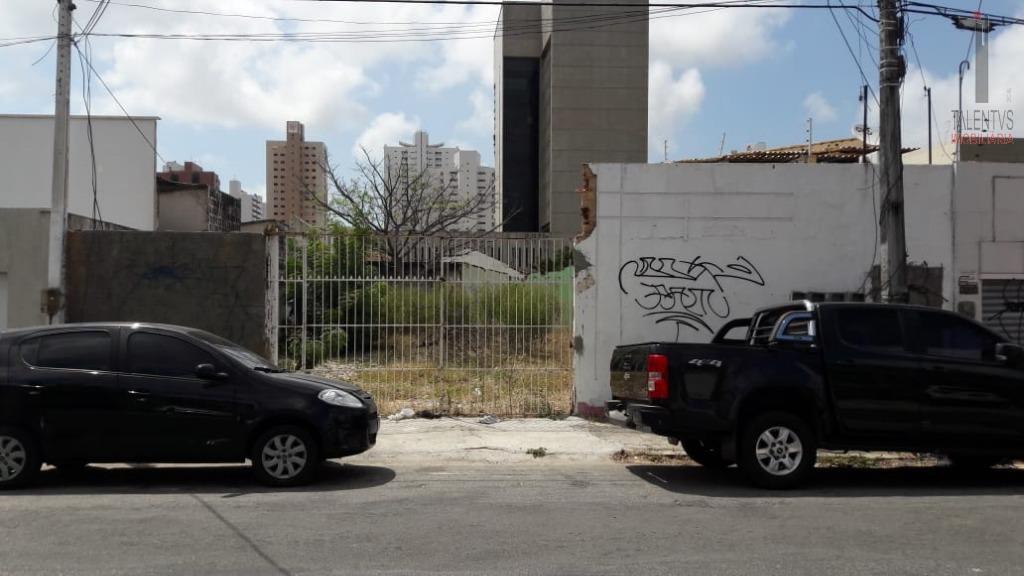 Terreno residencial para locação, Aldeota, Fortaleza.