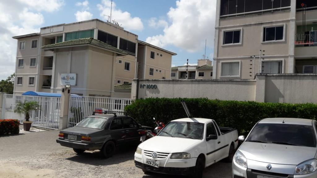Apartamento com 2 dormitórios para alugar, 76 m² por R$ 900/mês - Maraponga - Fortaleza/CE