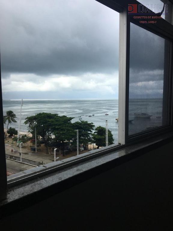 Apartamento na Av. Beira Mar, em Fortaleza