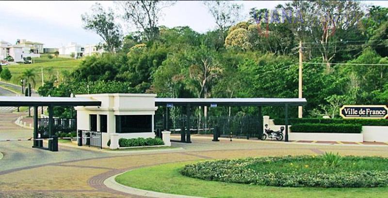 Terreno residencial à venda, Condomínio Ville de France II, Itatiba.