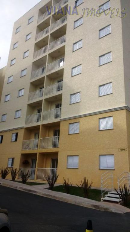Apartamento residencial para locação, Loteamento Santo Antônio, Itatiba.
