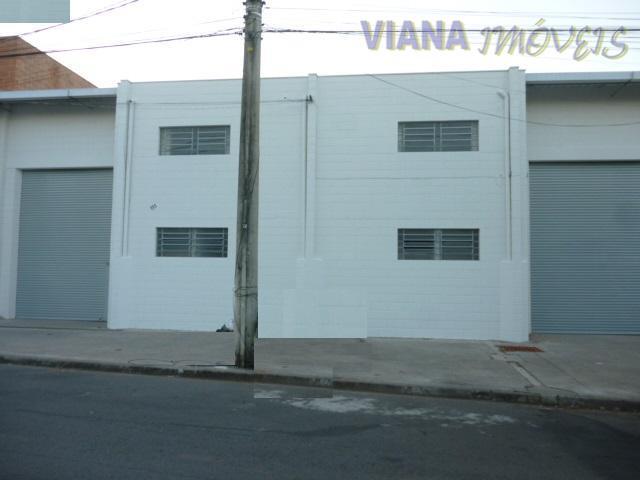 Barracão industrial para locação, Loteamento Parque Empresarial Adelelmo Corradini, Itatiba.