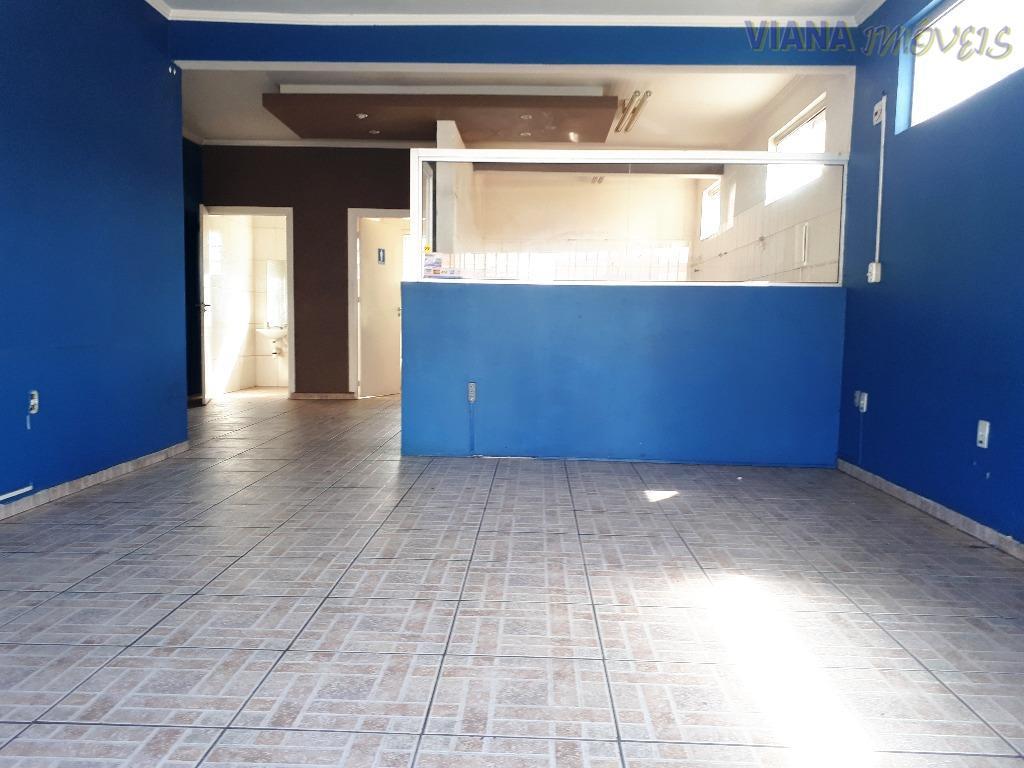 Salão comercial para locação, Centro, Itatiba.