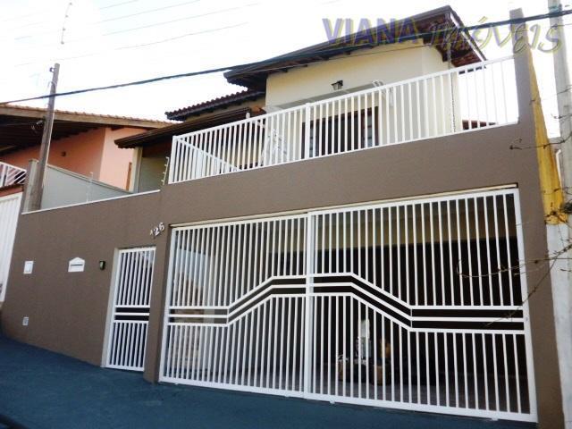 Casa com 3 dormitórios para alugar, 161 m² por R$ 1.600,00/mês - Recanto do Parque - Itatiba/SP