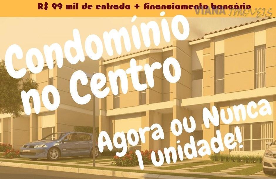 Casa  em fase de construção com 3 dormitórios à venda, Condomínio Fechado - Centro - Itatiba/SP