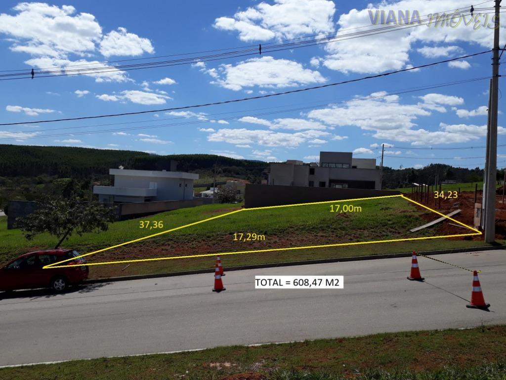 Terreno à venda, 608 m² por R$ 160.000 - Condominio 7 Lagos - Itatiba/SP