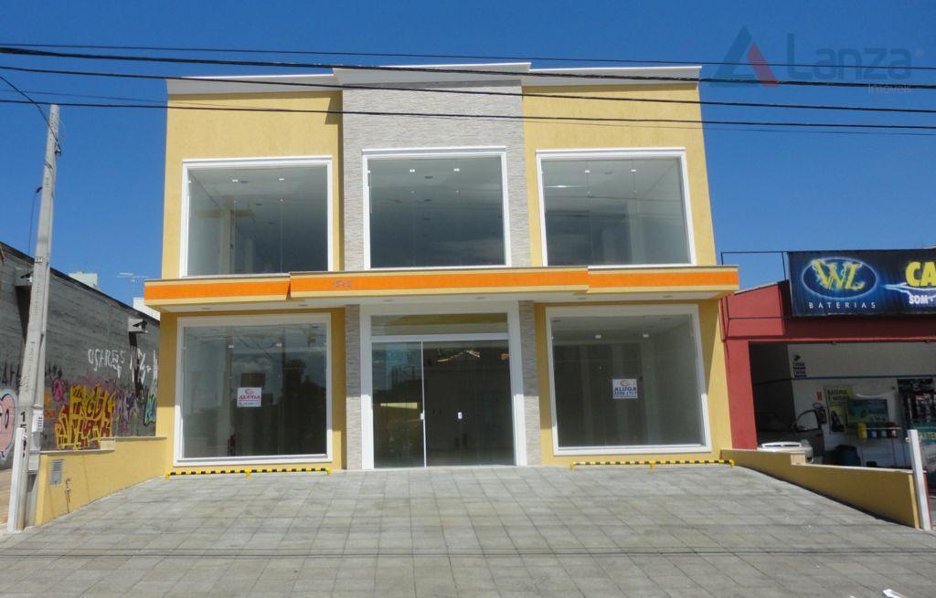 Salão Comercial para locação, Barão Geraldo, Campinas - SL0115.