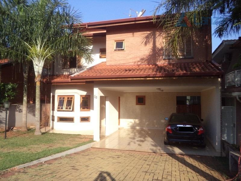Casa residencial à venda, Condomínio Residencial Manacás, Paulínia.
