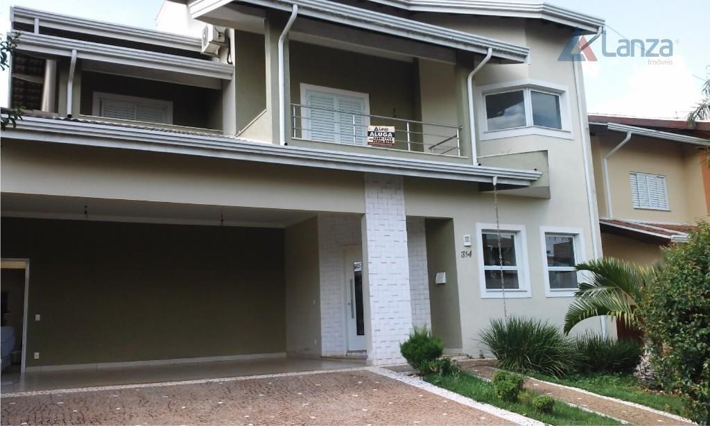 Casa residencial à venda, Residencial Paineiras, Paulínia - CA3810.
