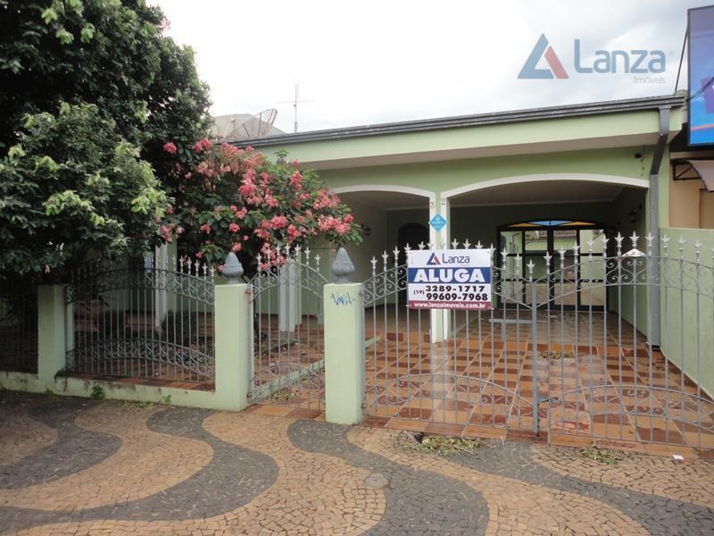 Casa comercial para locação, Barão Geraldo, Campinas - CA3444.