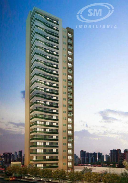 Apartamento residencial à venda, Cocó, Fortaleza - AP0244.