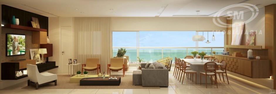 Apartamento residencial à venda, Dunas, Fortaleza - AP0245.