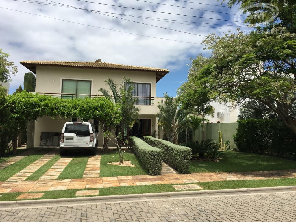 Casa residencial à venda, Alphaville Eusébio- CA0431.