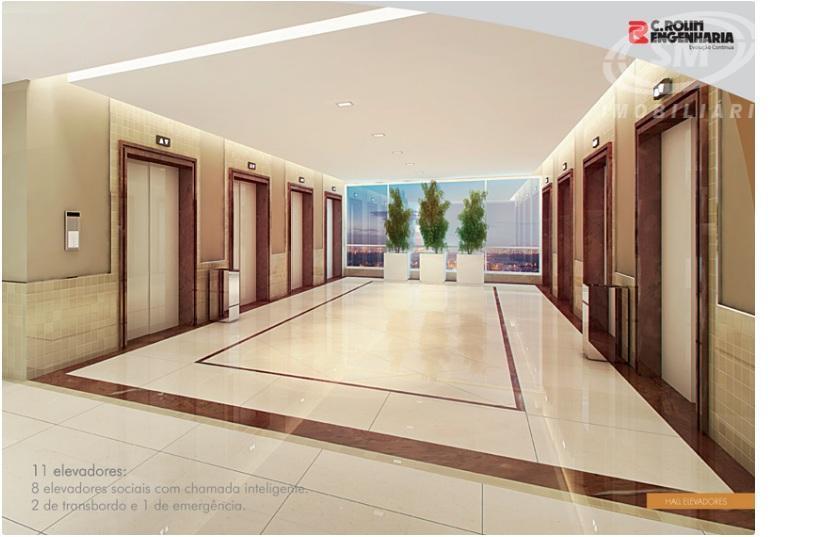 sala comercial com 34,77 m²auditóriosala de reunião 1sala de reunião 2espaço ecumênicoterraço panorâmico