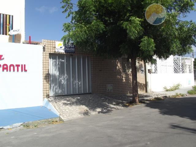 Casa  comercial para locação, Cidade dos Funcionários, Fortaleza.