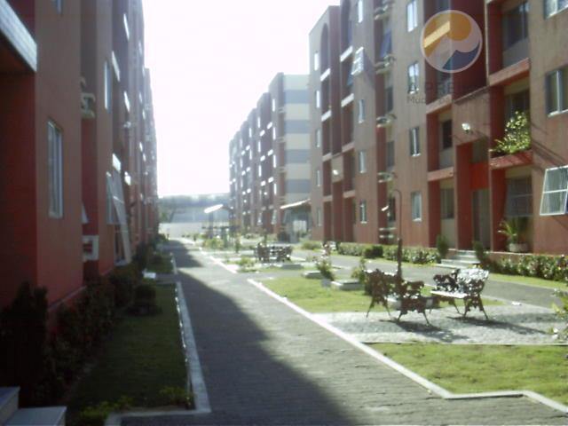 Apartamento  residencial para locação, Tabapuá, Caucaia.