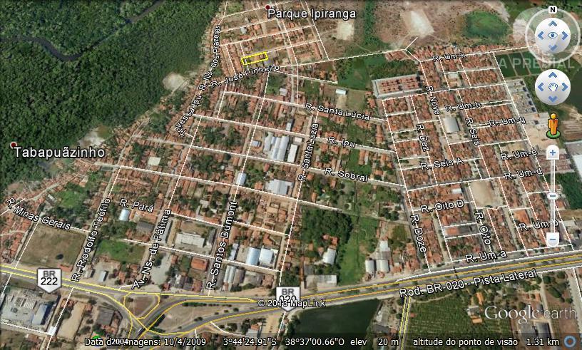 Terreno  residencial à venda, Tabapuá, Caucaia.