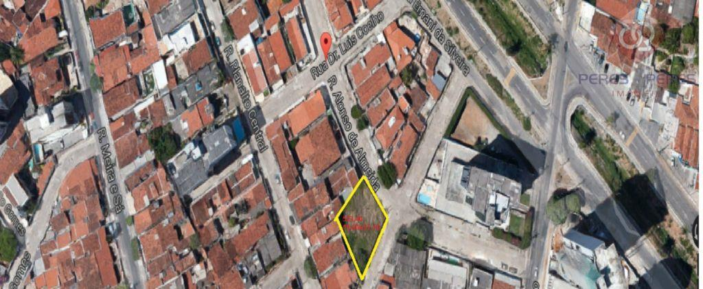 Terreno residencial à venda, Barro Vermelho, Natal.