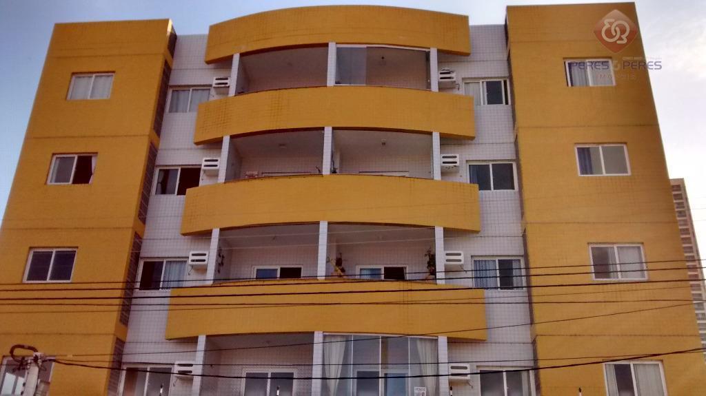 Apartamento residencial para locação, Capim Macio, Natal - AP0498.