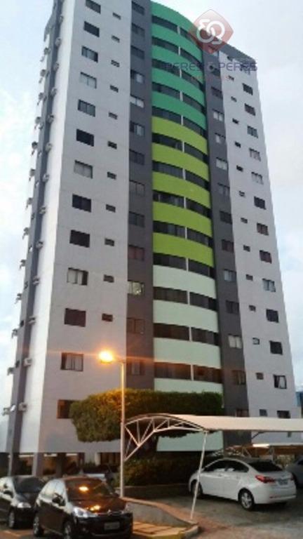 Apartamento residencial à venda, Candelaria, Natal.