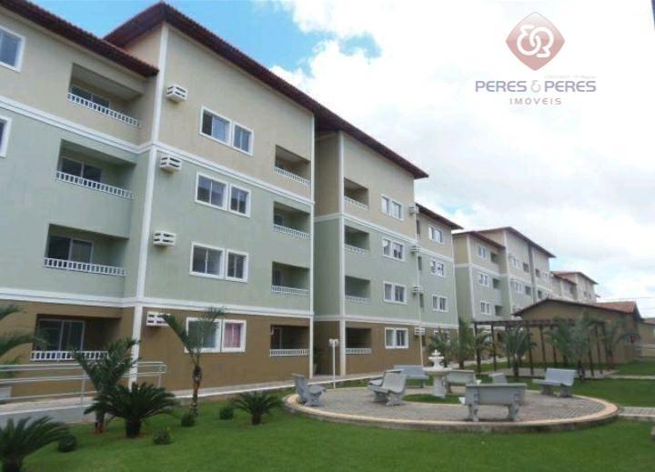 Apartamento com 2 dormitórios à venda, 61 m² por R$ 130.000 - Planalto - Natal/RN