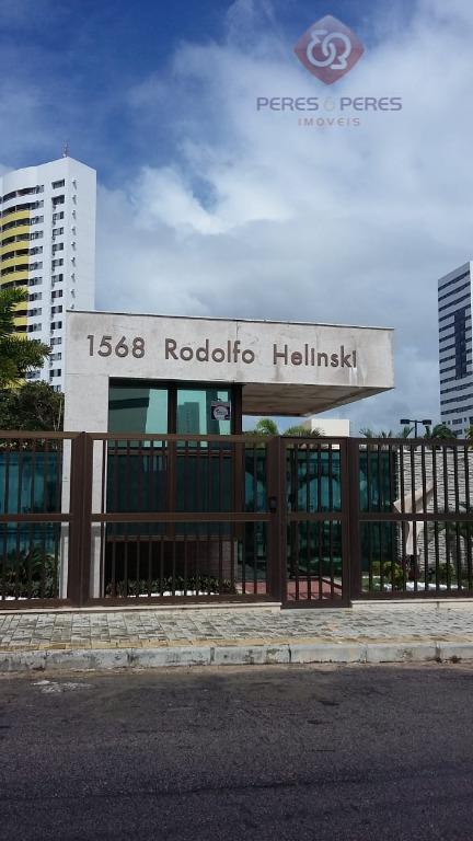 Apartamento com 3 dormitórios à venda, 109 m² por R$ 550.000 - Capim Macio - Natal/RN