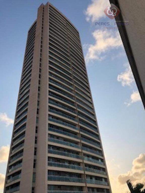 Apartamento com 3 dormitórios à venda, 92 m² por R$ 460.000 - Capim Macio - Natal/RN