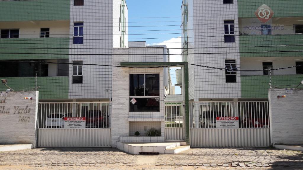 Apartamento com 3 dormitórios à venda, 80 m² por R$ 200.000 - Capim Macio - Natal/RN