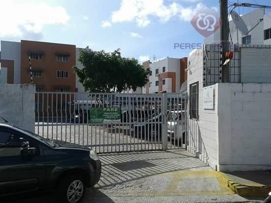 Apartamento com 2 dormitórios à venda, 50 m² por R$ 80.000 - Dix-Sept Rosado - Natal/RN