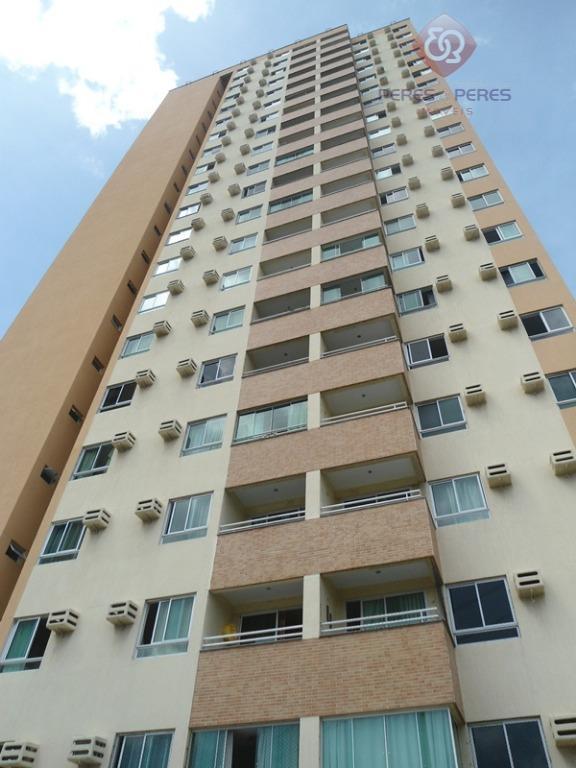 Apartamento com 2 dormitórios à venda, 55 m² por R$ 200.000 - Dix-Sept Rosado - Natal/RN