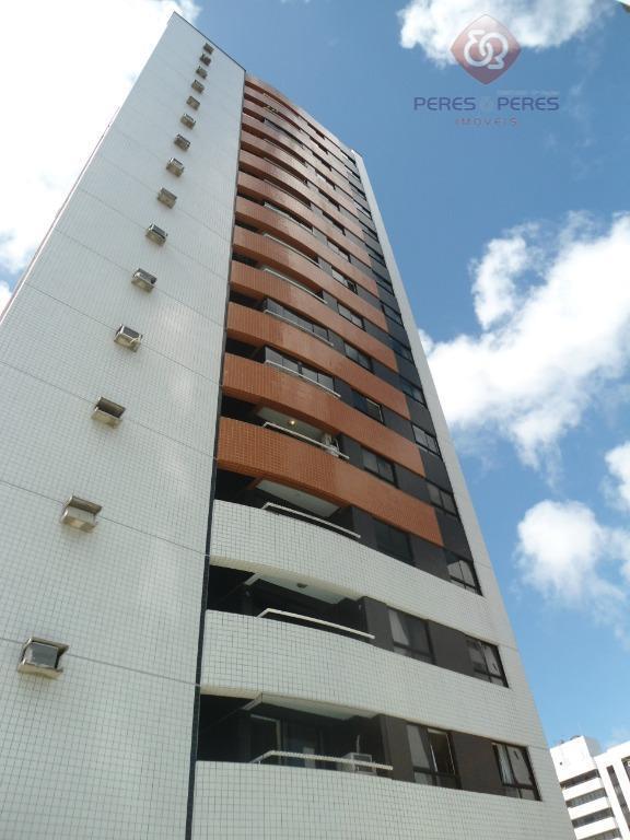 Apartamento com 2 dormitórios para alugar, 56 m² por R$ 1.000/mês - Barro Vermelho - Natal/RN