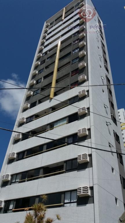 Apartamento com 2 dormitórios à venda, 57 m² por R$ 210.000 - Barro Vermelho - Natal/RN