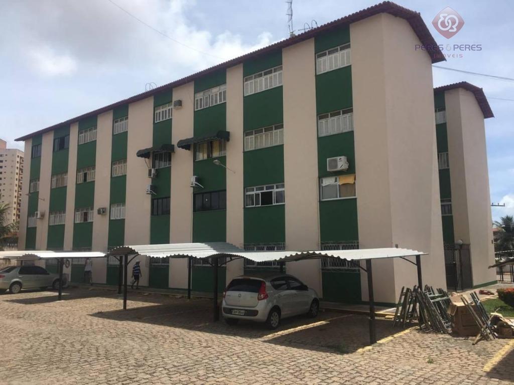 Apartamento com 2 dormitórios à venda, 55 m² por R$ 120.000 - Nova Parnamirim - Parnamirim/RN