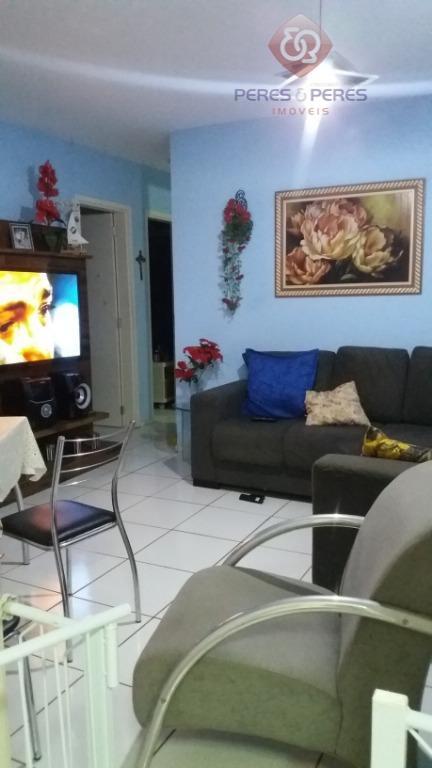 Apartamento com 2 dormitórios à venda, 55 m² por R$ 120.000 - Planalto - Natal/RN