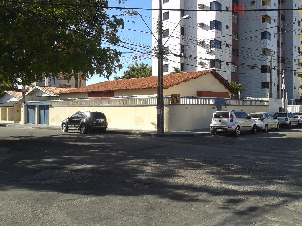 Casa Plana Esquina à venda, Aldeota, Fortaleza.